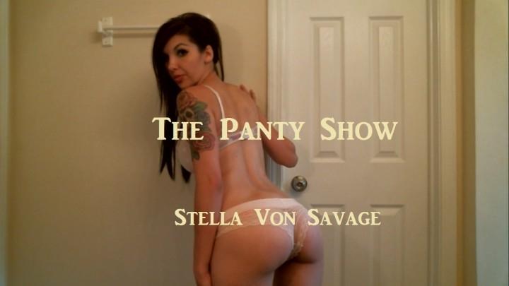 [HD] stella von savage the panty show stella models panties - Stella Von Savage - Amateur   Ass Shaking, Panty Fetish - 1,5 GB
