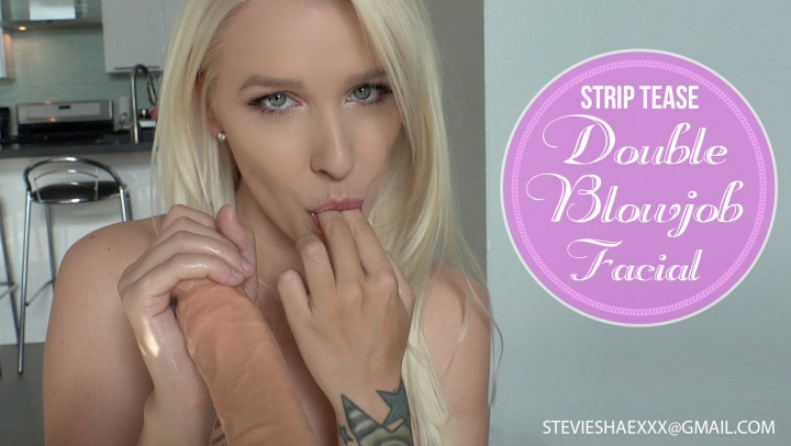 [4K Ultra HD] stevie shae pov strip tease double blowjob facial - Stevie Shae - Amateur | Pov, Blowjob - 1,3 GB