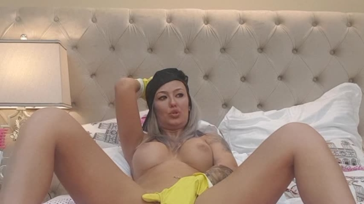1 $ Tariff [SD] aliciarey fetish fingering with cleaning gloves - AliciaRey - Amateur | Big Boobs, Blonde, Fingering - 586,1 MB