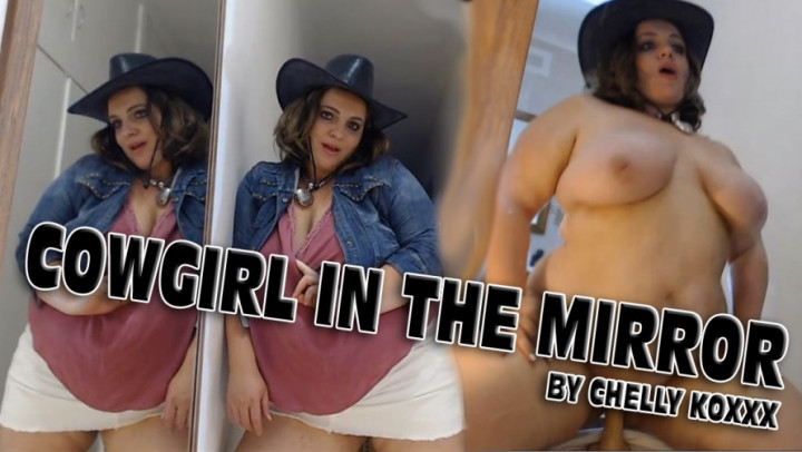 [Full HD] chelly koxxx bbw cowgirl in the mirror dildo fuck - Chelly Koxxx - Amateur | Cowgirl, Dildo Fucking - 310,4 MB
