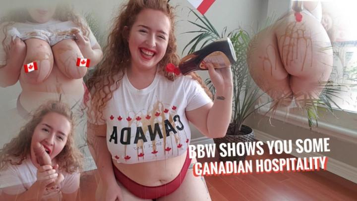 1 $ Tariff [] gwenadora redhead shows you canada day hospitality - gwenadora - Amateur   Bbw, Sploshing, Big Boobs - 1,1 GB