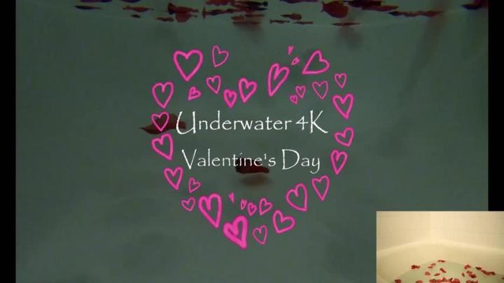 [4K Ultra HD] misskittymoon underwater 4k valentines teaser - MissKittyMoon - Amateur | Valentine's Day, 4k, Pov - 232,7 MB