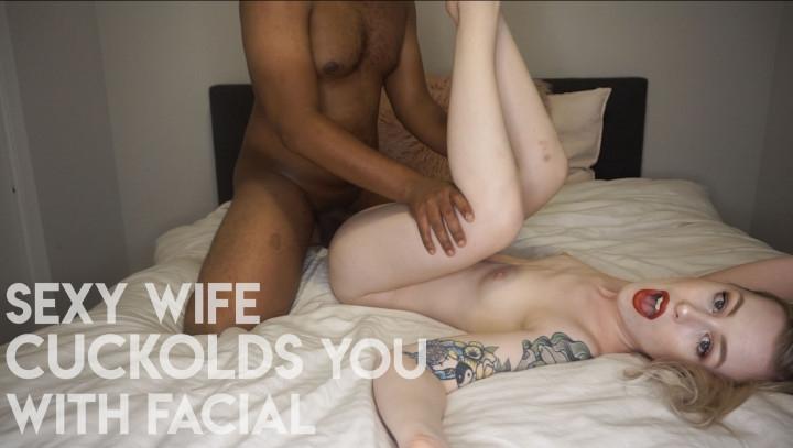 [Full HD] mystie mae sexy wife cuckolds you with facial - Mystie Mae - Amateur | Cuckolding, Cei, Interracial - 2,8 GB
