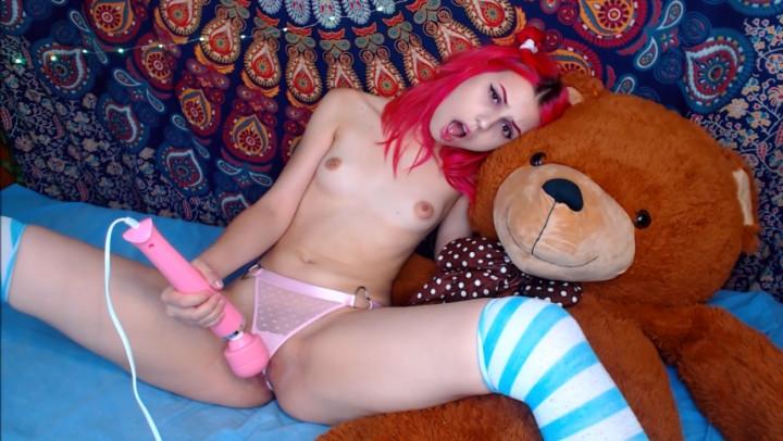 [Full HD] nhaerys teddy bear humping hitachi - Nhaerys - Amateur | Face Sitting, Teens, Vibrator - 1,6 GB