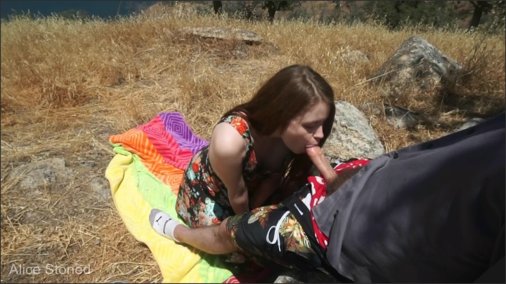[Full HD] alice stoned outdoor blowjob - MIX - Amateur | Size - 271,8 MB