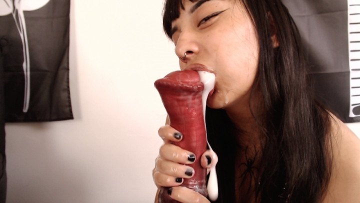 1 $ Tariff [HD] anna thorn horse cock blowjob - Anna Thorn - Amateur | Asian, Taboo, Bad Dragon - 1018,4 MB
