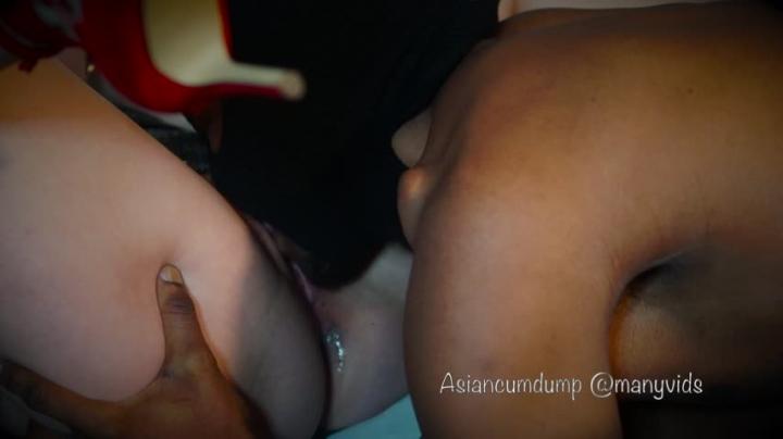 [Full HD] asian cumdump black bred creampie scene only - Asian CumDump - Amateur   Cream Pie, Black Cock, Breeding - 1,7 GB