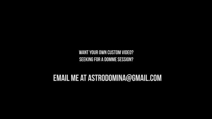 [Full HD] astrodomina ass licker - AstroDomina - Amateur | Toilet Slavery, Toilet Humiliation - 709,8 MB
