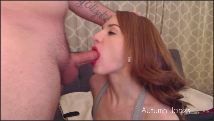 [HD] autumn jones sloppy deepthroating and messy facial - Mix - Amateur | Size - 373 MB