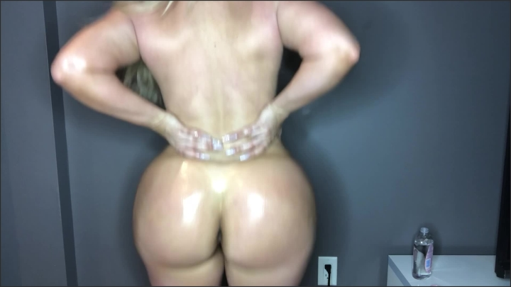 [Full HD] beautywithabooty jerk off to my big oily ass - Mix - Amateur | Size - 801,5 MB