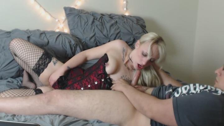 [HD] jandjcouple sloppy head by blonde - JandJCouple - Amateur | Gagging, Blowjob - 272,8 MB