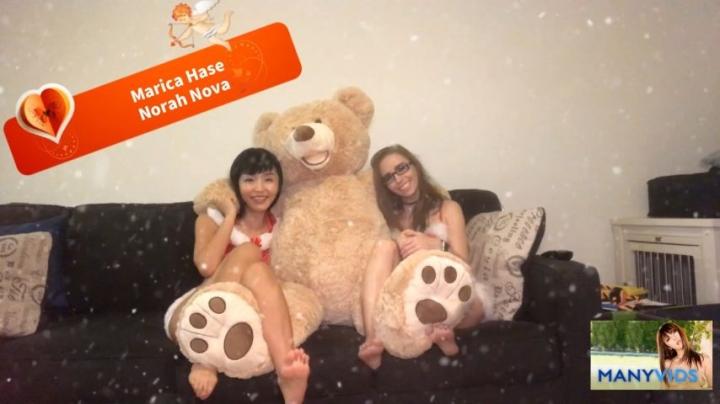 [Full HD] maricahase christmas foot fetish gift - MaricaHase - Amateur | Christmas, Lesbians - 257 MB