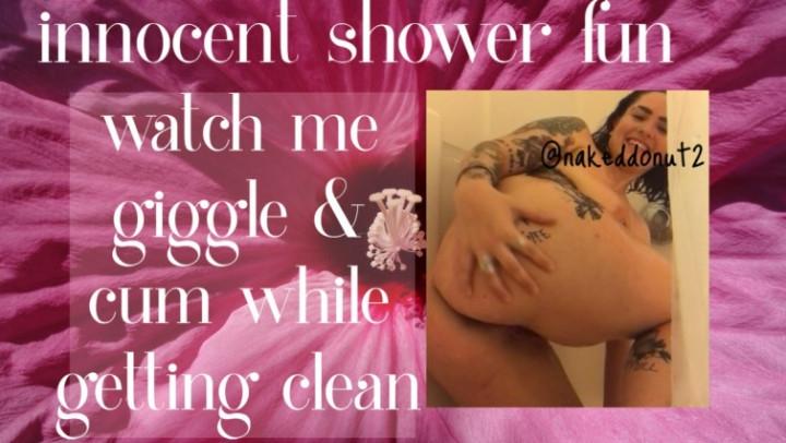 [HD] nakeddonut innocent shower fun - nakeddonut - Amateur | Laughing, Solo Masturbation - 104,5 MB