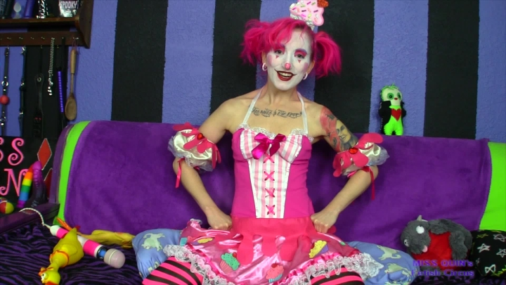[Full HD] thatmissquin oops i gave you clownmydia - ThatMissQuin - Amateur | Clowns, Pov Sex, Transformation Fantasies - 843,3 MB