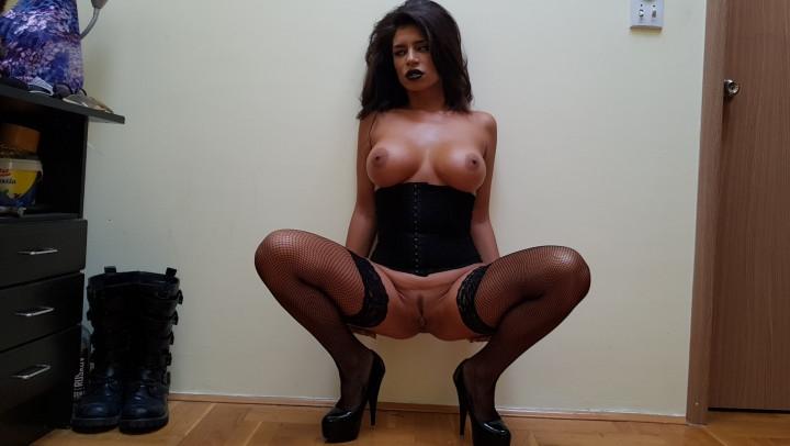 [SD] una alexandar beauty gothic girl striptease - Una Alexandar - Amateur   Erotic Dancers, Dancing - 620,3 MB