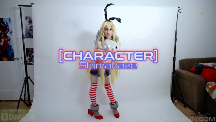 [Full HD] amateur shimakaze | Masturbation, Cosplay, Photo Shoot - 1,1 GB