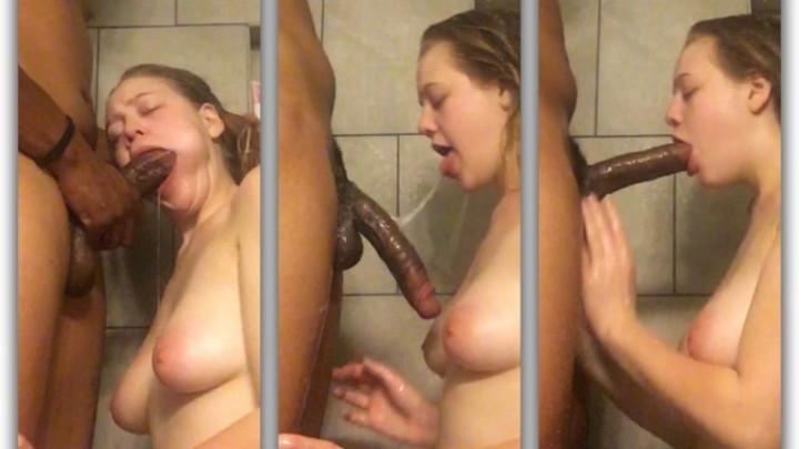 [HD] briceleblaze messy throat fuck in shower - BriceleBlaze - Amateur | Blonde, Teens - 573,4 MB