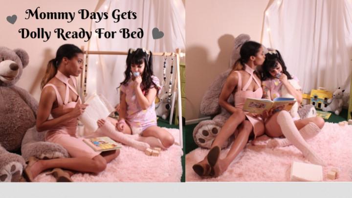 1 $ Tariff [Full HD] dearestdoll mommy days gets dolly ready for bed - Dearestdoll - Amateur   Mommy Roleplay, Girl Girl - 952 MB