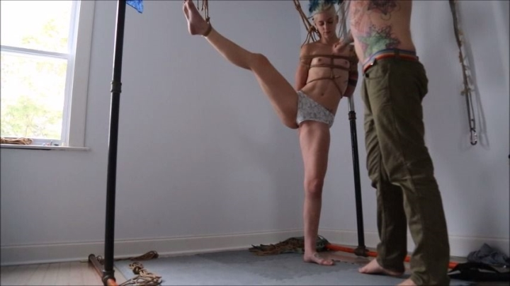 [SD] hannibaldamage another fun rope practice with fredrx - HannibalDamage - Amateur | Bondage Rope, Rope Bunny - 480,5 MB