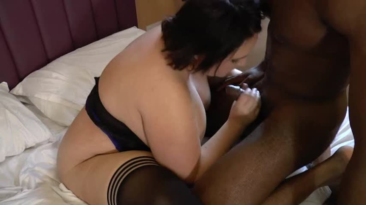 Bbw Granny Interracial Anal