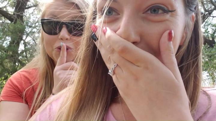 [Full HD] mandybabyxxx girls almost caught fingering in public - mandybabyxxx - Amateur | Lesbians, Voyeur, Public Nudity - 466,9 MB