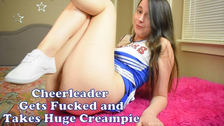 [Full HD] sadiehearts cheerleader gets fucked with creampie - Sadiehearts - Amateur | Creampie, Masturbation, Pov - 775,3 MB