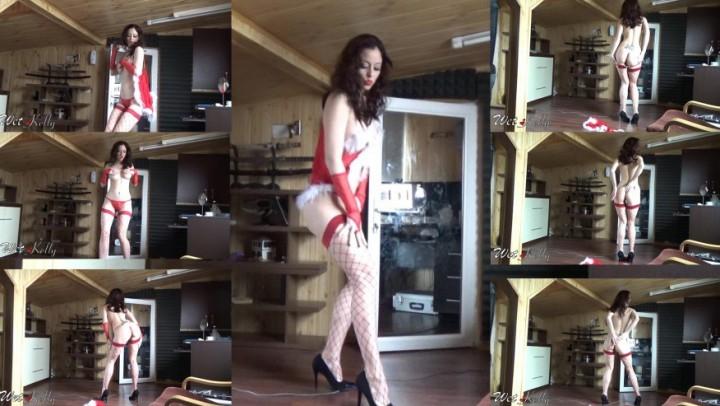 [Full HD] wet kelly christmas tease - Wet Kelly - Amateur | Erotic Dancers, Curvy, Big Boobs - 186,3 MB