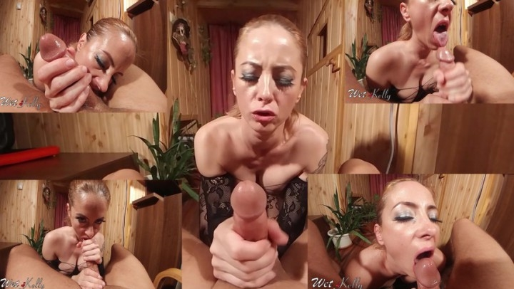 [Full HD] wet kelly close up pov with cum in mouth - Wet Kelly - Amateur | Pov, Deepthroat, Amateur - 956,2 MB