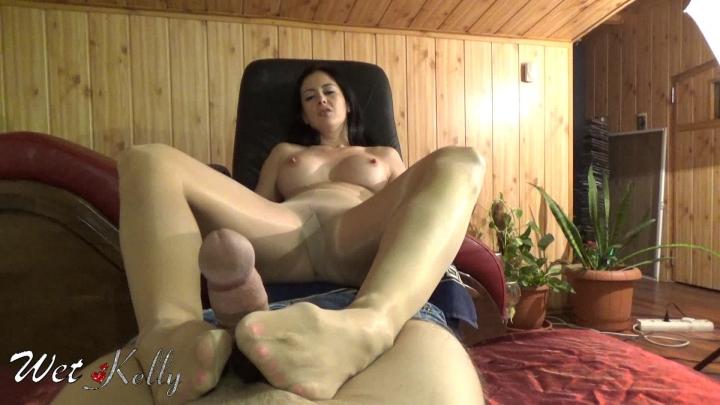 [Full HD] wet kelly foot job pantyhose send to my hubby - Wet Kelly - Amateur | Pantyhose Footjobs, Foot Fetish - 715 MB