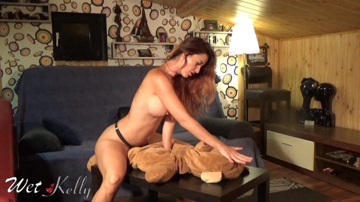 [Full HD] wet kelly fucking my teddy - Wet Kelly - Amateur | Female Domination, Fetish, Big Boobs - 435,2 MB