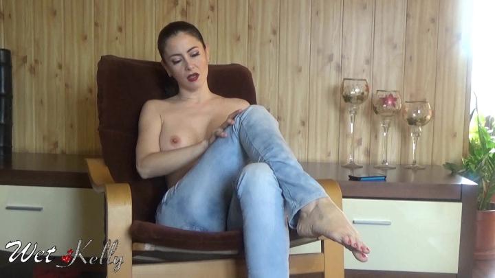 [Full HD] wet kelly jeans fetish masturbation - Wet Kelly - Amateur | Jeans Fetish, Solo Masturbation, Solo Female - 490,9 MB