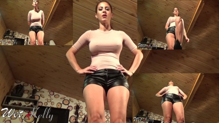 [HD] wet kelly kicking your pathetic misogin balls - Wet Kelly - Amateur | Domination, Mistress - 240,4 MB
