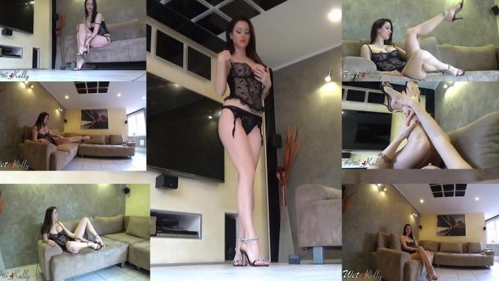 [Full HD] wet kelly sexy feet teaser - Wet Kelly - Amateur | Big Legs, Goddess Worship - 433 MB