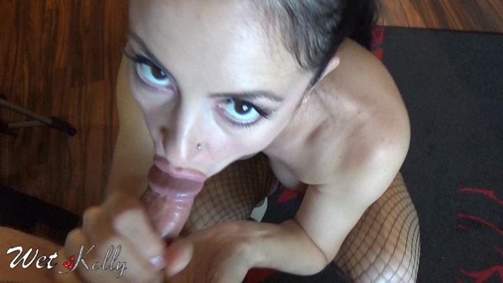[Full HD] wet kelly tease and straight sex cum in mouth - Wet Kelly - Amateur   Big Tits, Strip Tease, Pov Sex - 1,1 GB