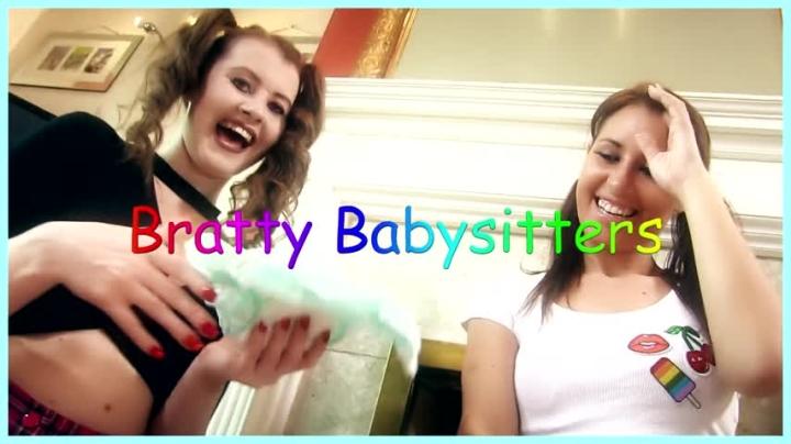 [Full HD] whores are us bratty babysitters - whores are us - Amateur | Brat Girls, Diaper, Diaper Discipline - 334,2 MB