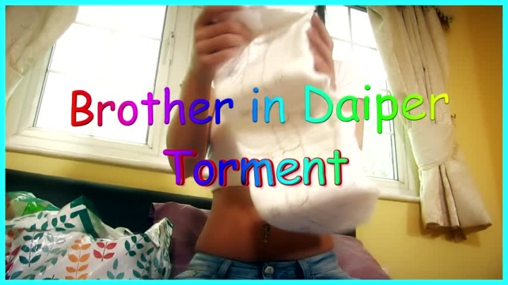 [Full HD] whores are us brother in diaper torment - whores are us - Amateur | Diaper Fetish, Brat Girls, Taboo - 298,2 MB