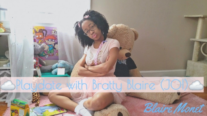 [Full HD] blaire monet playdate with bratty blaire joi - Blaire Monet - Amateur | Laughing, Joi, Tease & Denial - 534,9 MB