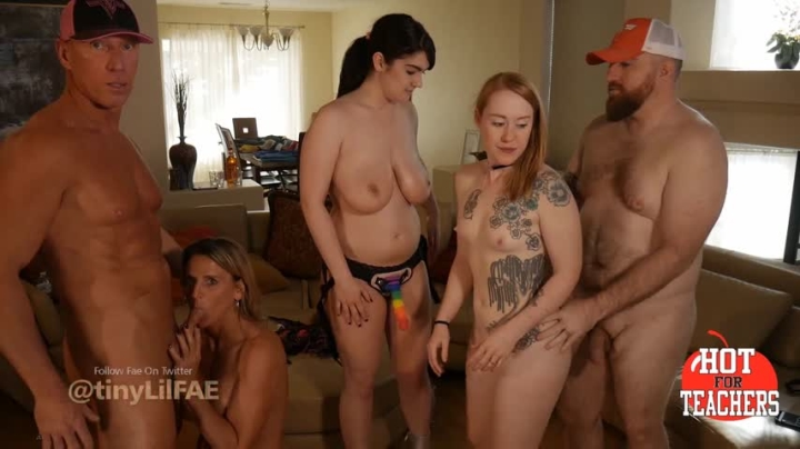 1 $ Tariff [{quality}] fae breen orgy with anne and hotforteachers - Fae Breen - Amateur | Double Penetration, Orgy, Lesbian Domination - 3,3 GB