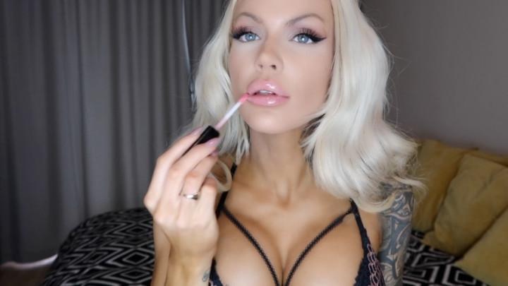 1 $ Tariff [Full HD] harleylavey stroke 4 my lipgloss - HarleyLaVey - Amateur   Lipstick Fetish, Lip Smelling - 1,2 GB