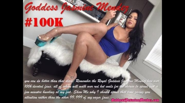 [Full HD] jasmine mendez 100k followers celebration - Jasmine Mendez - Amateur   Goddess Worship, Ass, Female Domination - 60,9 MB