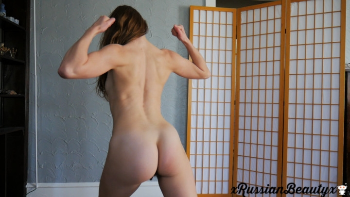 1 $ Tariff [Full HD] madison marz seducing you with my toned body - Madison Marz - Amateur | Flexing, Joi, Muscle Worship - 774,4 MB
