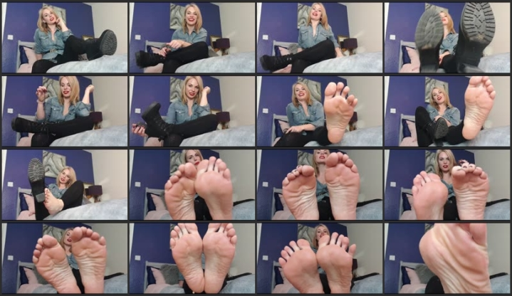 Mature Lady Feet Tickled
