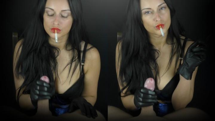 [Full HD] cassieclarke smoking handjob in leather gloves - CassieClarke - Amateur   Glove Fetish, Smoking, Leather Fetish - 1 GB