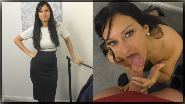 [Full HD] cassieclarke store attendant treats you to more - CassieClarke - Amateur | Secretary, Blow Jobs - 854 MB