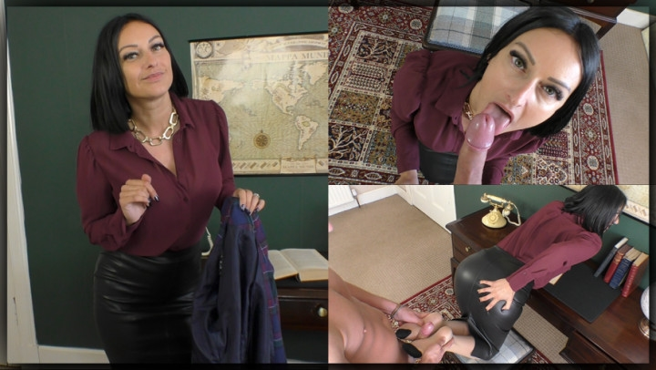 [Full HD] cassieclarke the boss demands cum on her skirt - CassieClarke - Amateur | Blowjob, Footjobs, Office Domination - 870,4 MB