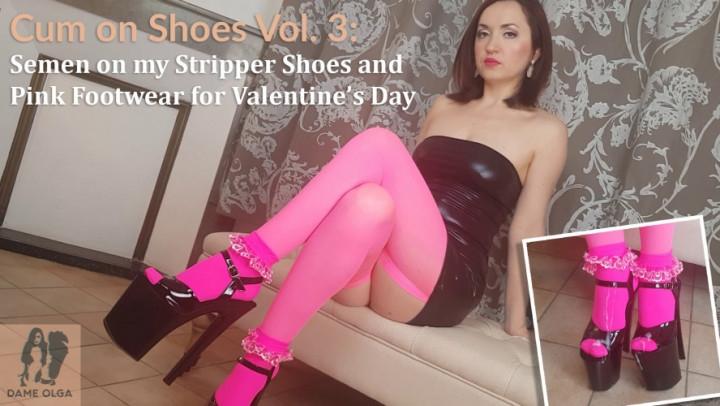 [Full HD] dame olga cum on shoes vol 3 - Dame Olga - Amateur | Shoe Fetish, High Heels - 500,8 MB