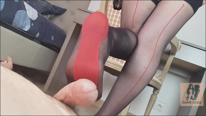 "[Full HD] dame olga rubbing cock with cuban heel stockings - Dame Olga - Amateur - ""duration 00:12:16"" | Pantyhose Footjobs, Shoejob, Legjobs - 1,2 GB"