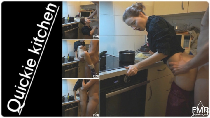 1 $ Tariff [Full HD] ephemere cam quickie in the kitchen - Ephemere cam - Amateur -