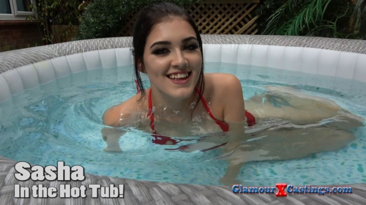 """[4K Ultra HD] glamourxcastings sarah naked in my hot tub - GlamourXCastings - Amateur - """"duration 00:17:12"""" 