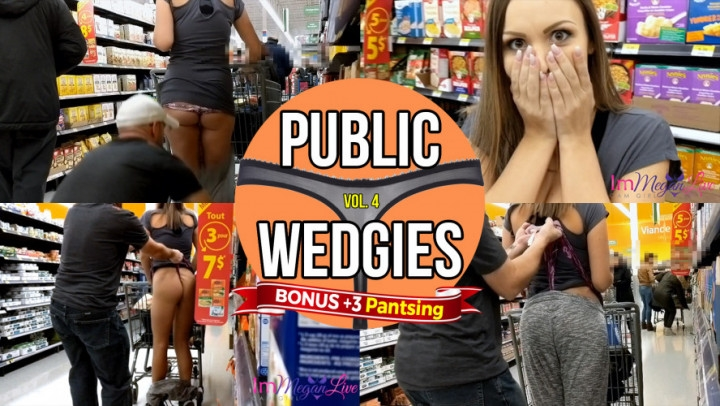 """[Full HD] immeganlive public wedgies vol 4 - ImMeganLive - Amateur - """"duration 00:12:59"""" 